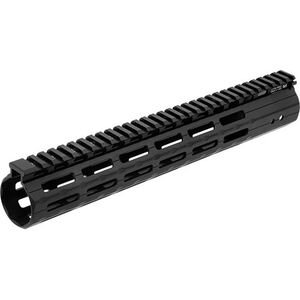 "Leapers UTG Pro LR308, M&P-10 M-LOK Super Slim Free Float Hand Guard 13"" Aluminum Matte Black"
