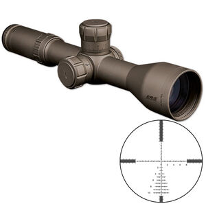 Bushnell Elite Tactical ERS 3.5-21x50 Riflescope G2 Reticle 34mm Tube .1 Mil Adjustments First Focal Plane Side Focus Parallax Flat Dark Earth