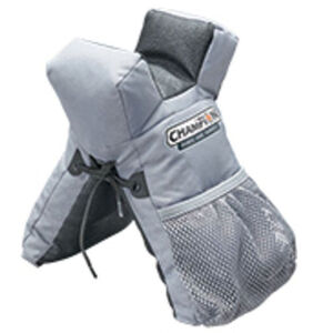 Champion Target Rail Rider Front Shooting Bag Tuff Hide Bottom Synthetic Black and Gray