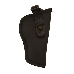 """Birchwood Casey Single Action Revolvers with 6.5"""" to 7.5"""" Barrels Nylon OWB Holster Size 09 Ambidextrous Matte Black"""
