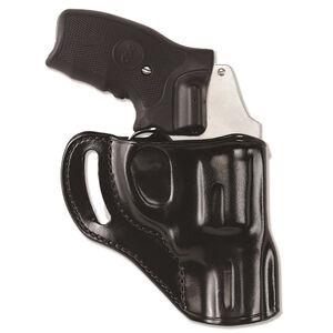 "Galco Hornet Colt Cobra/Agent/Detective Special, Ruger SP101 2.25"" Belt Holster Right Hand Leather Black HT118B"