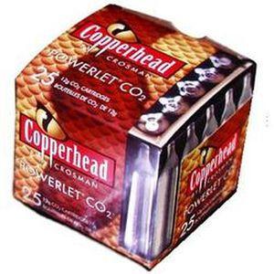 Copperhead 12-Gram CO2 Powerlets 25 Per Box