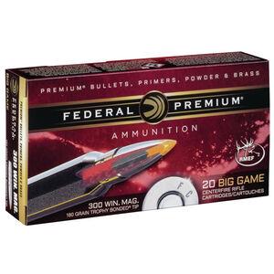 Federal .300 Winchester Magnum Ammunition 20 Rounds Trophy Bonded Tip 180 Grains P300WTT1