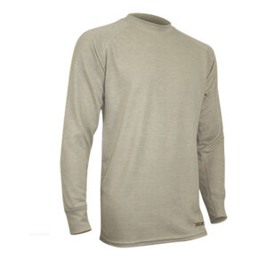 XGO FR Phase 2 Men's Long Sleeve Midweight Shirt Modacrylic/FR Rayon Blend Large Desert Sand