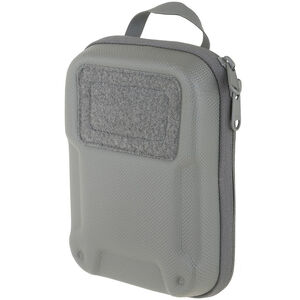 Maxpedition ERZ Everyday Organizer YKK Zippers Dual Nylon Fabric 500D Hex Ripstop/1000D Plain Weave Teflon Coated Gray