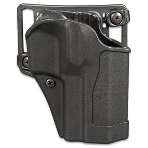 BLACKHAWK! Sportster CQC Belt/Paddle Holster SIG P220/225/226 Right Hand Polymer Black 415606BK-R