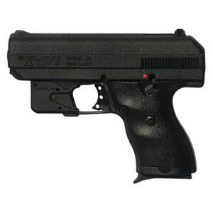 "Hi-Point C-9 Semi Auto Pistol 9mm Luger 3.5"" Barrel 8 Rounds 3 Dot Sights LaserLyte Laser Package High Impact Polymer Frame Black Powder Coat Finish Matte Black 916LLTGM"