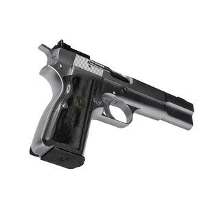 Pachmayr Renegade Wood Laminate Grips Browning Hi Power Smooth Charcoal 63281