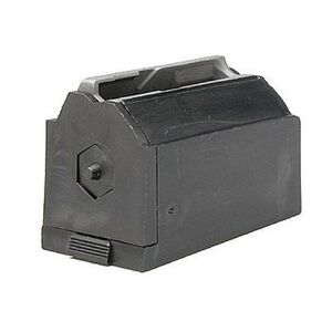Ruger M77/22 Magazine .22 Hornet 6 Rounds Plastic with Steel Lips Black Finish JHX1