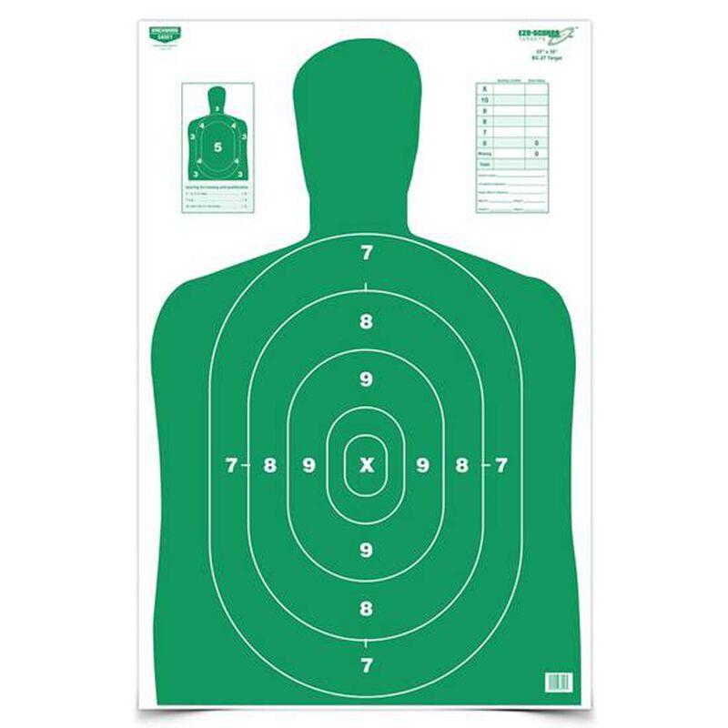 """Birchwood Casey Eze-Scorer 23"""" x 35"""" Paper Target BC-27 Green Indoor/Outdoor 100 Pack 37017"""