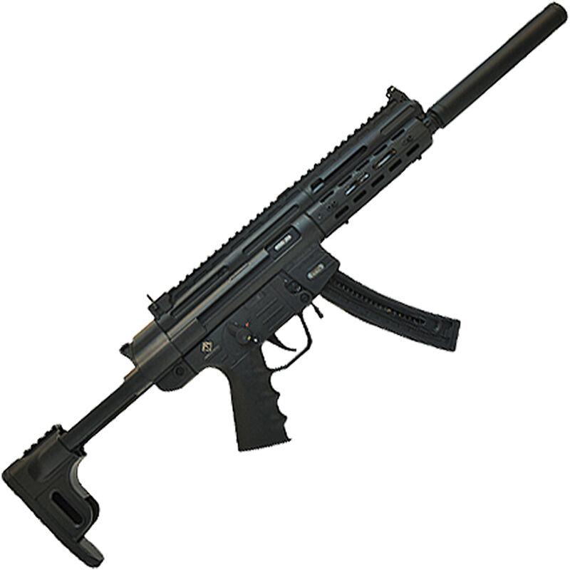 "ATI GSG-16 Carbine .22 LR Semi Auto Rifle 16.25"" Barrel 22 Rounds Fake Suppressor M-LOK Handguard Collapsible Stock Black"