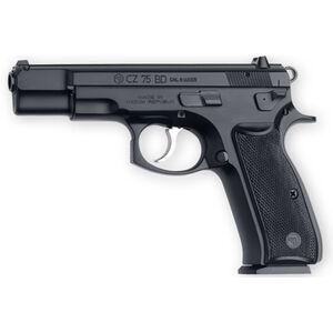 "CZ 75 BD Semi Automatic Handgun 9mm 4.7"" Barrel 10 Rounds Decocking Lever Polymer Grips Black Polycoat Finish"