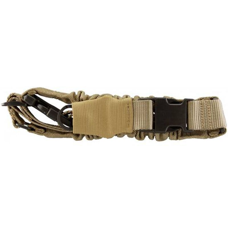 AIM Sports Single Point Bungee Sling Nylon Tan AOPS01T