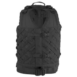 Voodoo Tactical Vanguard VestPack A tactical vest with an attached tactical backpack BLACK