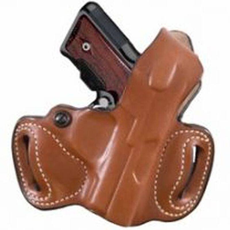 "DeSantis Thumb Break Mini Slide OWB Fits SIG Sauer P938 Belt Holster 1.75"" Belt Right Hand Leather Tan"