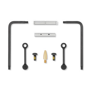 "KNS Precision Inc Gen 2 Mod 2 Non-Rotating AR-15 .154"" Diameter Trigger/Hammer Pins Nitride Finish Black"