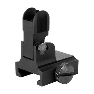AIM Sports AR-15 Front Flip Up Sight Gas Block Height Aluminum Anodized Black MT034