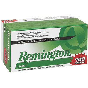 Remington 9mm Luger 100 Rounds 115 Grain JHP Bullet 1135 fps