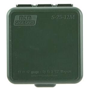 "MTM Case-Gard Shotshell Boxes Dual Gauge 10/12 Gauge Shotshell Box 3.5"" Shells 25 Round Capacity Forest Green Finish"