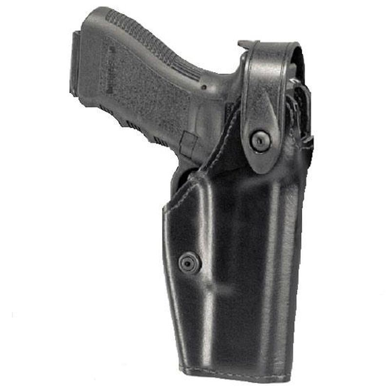 Safariland 6280 SLS Mid-Ride Glock 17, 22, 19, 23 Level 2 Retention Left Hand Thermal-Molded STX Tactical Black 6280-83-132