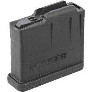 Ruger AI-Style Precision Rifle Magazine 5 Rounds Short Action .308 Win/6.5mm CM/.243 Win Polymer Black