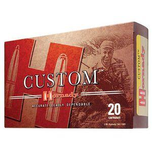 Hornady Custom 7mm Remington Magnum Ammunition 20 Rounds BTSP 162 Grains 8063