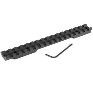 EGW Savage Roundback Long Action One Piece Picatinny Scope Mount Aluminum Matte Black 41100