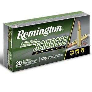Ammo 7mm Rem Mag Remington Premier 150 Grain Scirocco Bonded Bullet 3110 fps 20 Rounds PRSC7MMB