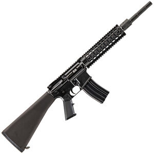 """Alexander Arms AWS16 AR-15 Semi Auto Rifle .50 Beowulf 16.5"""" Barrel 7 Rounds Midwest Industries Freefloat Quad Rail Handguard A2 Fixed Stock Black"""