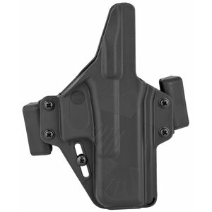 Raven Concealment Systems Perun OWB Holster For GLOCK 19/23/32 Ambidextrous Draw Matte Black Finish