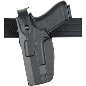 Safariland 7360 Level III Duty Holster Fits SIG P320 Compact/Carry with Compact Light Left Hand SafariSeven Plain Black