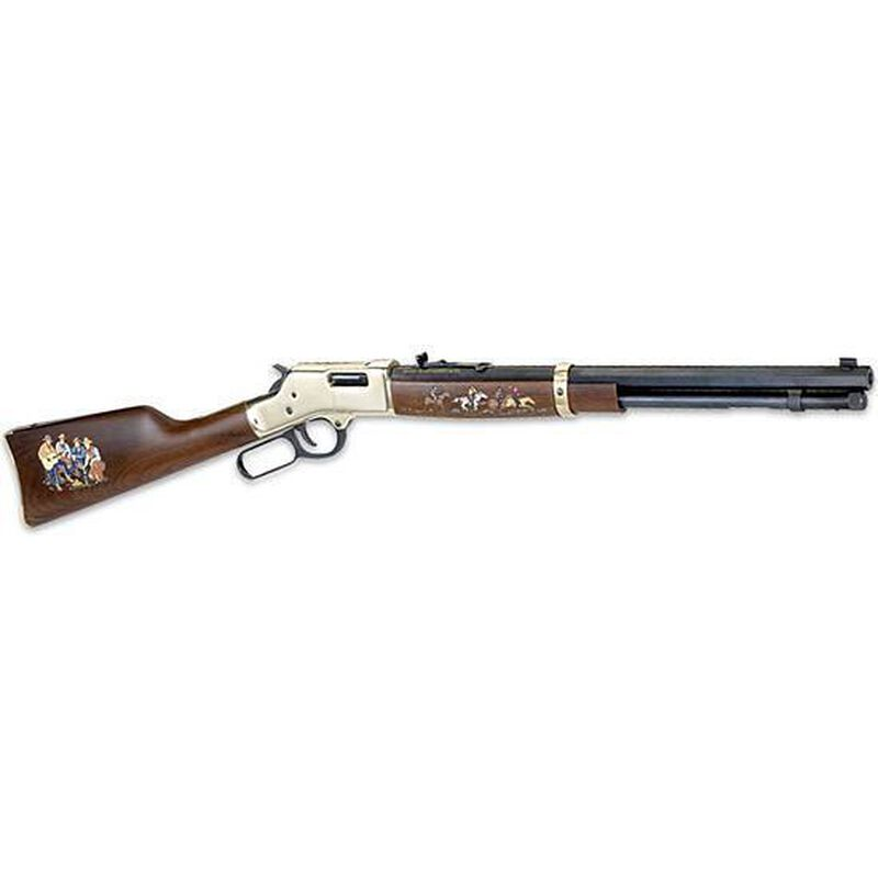 "Henry Repeating Arms Big Boy Cowboy Special Edition Model H006CB2 Lever Action Rifle .45 Long Colt 20"" Octagon Barrel 10 Rounds American Walnut Stock Brass Finish"