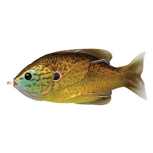 "Sunfish Hollow Body 3"", Numner 3/0 Hook Size, Topwater Depth, Copper Pumpkinseed"