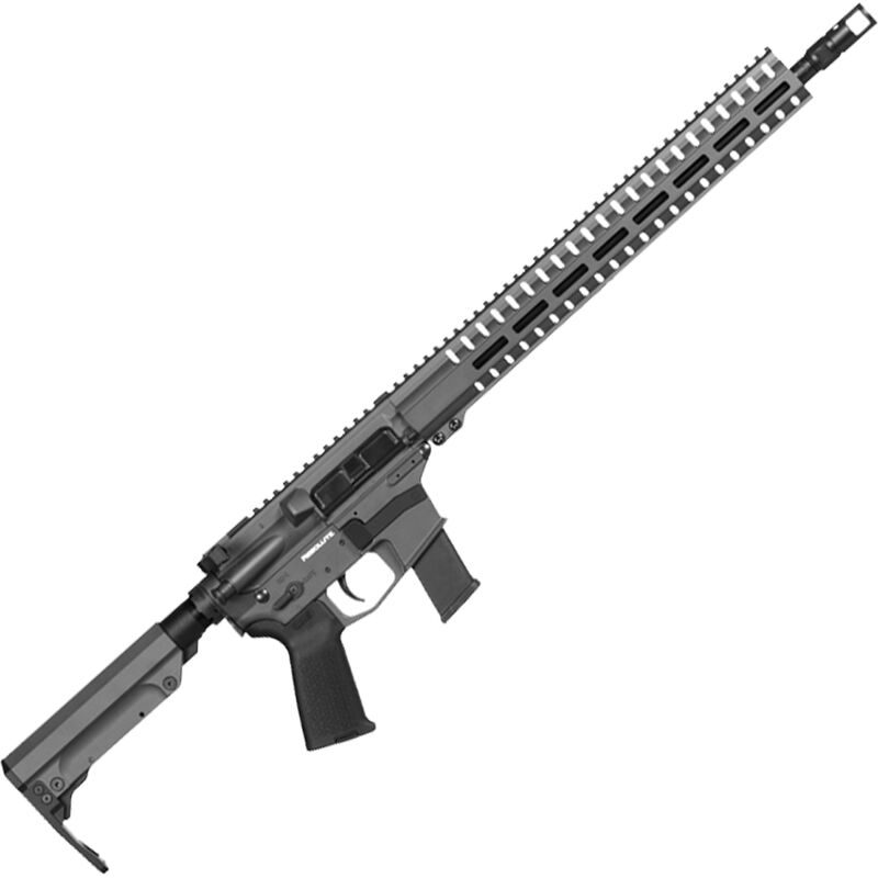"CMMG Resolute 300 MkG .45 ACP AR-15 Semi Auto Rifle 16"" Barrel 13 Rounds Uses GLOCK Style Magazines RML15 M-LOK Handguard RipStock Collapsible Stock Sniper Grey Finish"