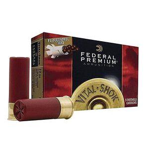 """Federal Vital-Shok 12 Gauge Ammunition 5 Rounds 2.75"""" 9 Pellets 00 Buck 1,325 Feet Per Second"""