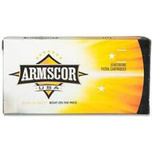 Armscor USA .38 Special Ammunition 1000 Rounds FMJ 158 Grains F AC 38-17N