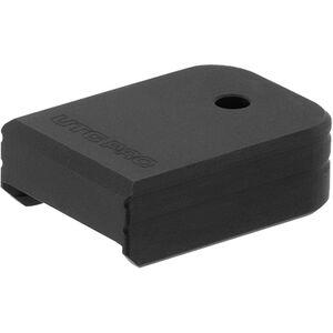 UTG PRO +0 Base Pad, Glock Small Frame, Matte Black Aluminum