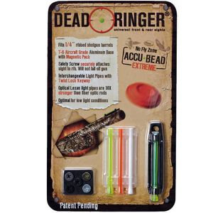 """Dead Ringer Accu-Bead Extreme 5/16"""" Front Bead Single Pack For Ribbed Shotguns DR4423"""