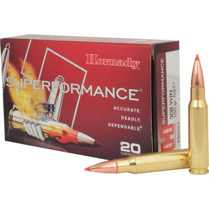 Hornady .308 Winchester Ammunition 20 Rounds SST HP 150 Grains