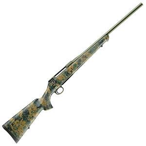 "Sauer & Sohn 100 Cherokee 6.5 PRC Bolt Action Rifle 22"" Barrel 5 Rounds Woodland Digi Cam Synthetic Stock Green Cerakote Finish"