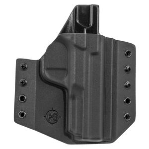 C&G Holsters Covert OWB Holster for S&W M&P 2.0 Right Hand Draw Kydex Black