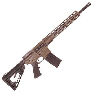 "Diamondback Firearms DB15 AR-15 Semi Auto Rifle 5.56 NATO 16"" Barrel 30 Rounds 12"" M-LOK Hand Guard Collapsible Stock Flat Dark Earth Finish"