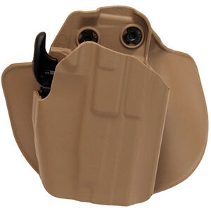 Safariland 578 GLS Pro-Fit Wide Standard Paddle Holster Right Hand FDE 578-750-551