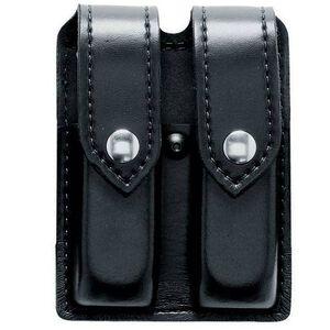 Safariland Double Magazine Pouch Size 10 SIG P227 Black Snaps STX Tactical Finish Black 77-94-23PBL