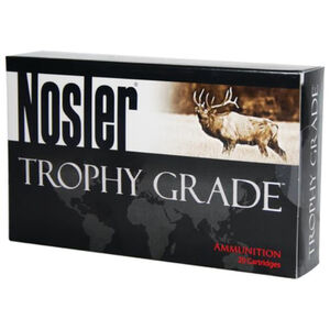 Nosler Trophy Grade .300 Remington Ultra Magnum Ammunition 20 Rounds 210 Grain AccuBond Long Range Projectile 2920fps