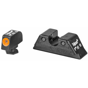 Trijicon HD Night Sight Set Fits GLOCK 17/19/26/22/23/27 Tritium Orange