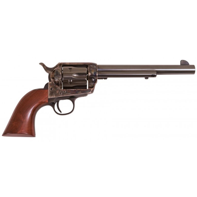 """Cimarron SA Frontier Pre War .357 Mag Single Action Revolver 7.5"""" Barrel 6 Rounds Walnut Grips Case Hardened and Blued Finish"""