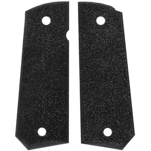 ERGO Grip XTR 1911 Grips Government/Commander Square Butt Textured Rubber Black 4511BK