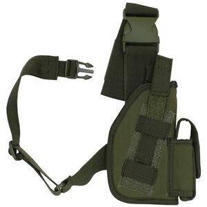 "Fox Outdoor SAS Tactical Leg Holster 5"" Right Hand Nylon Olive Drab Green 58-020"