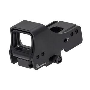 "UTG 3.9"" Red/Green Reflex Sight One 4 MOA Dot Matte Black SCP-RDM39SDQ"